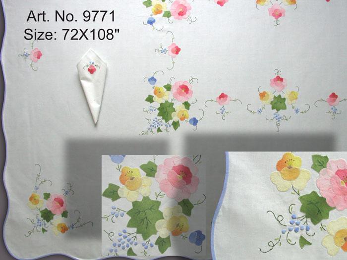 Amazon.com: Embroidered Sheet Set - Queen Sheet Set: Home & Garden